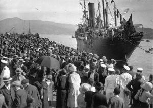 Barco de emigrantes, Pacheco (1915)